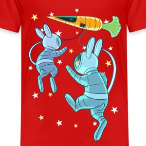 Rabbits In Space Tee shirts - T-shirt Premium Enfant