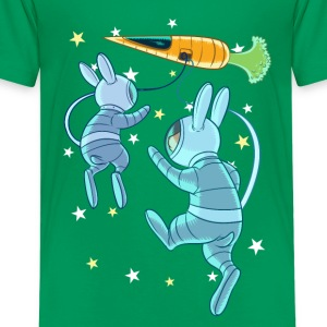 Rabbits In Space Tee shirts - T-shirt Premium Ado