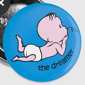 The Dreamer  Buttons & Anstecker - Buttons klein 25 mm