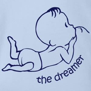The Dreamer T-Shirts - Baby Bio-Kurzarm-Body