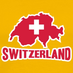 Switzerland Logo T-Shirts - Men's Premium T-Shirt