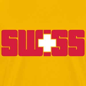 Swiss T-Shirts - Men's Premium T-Shirt