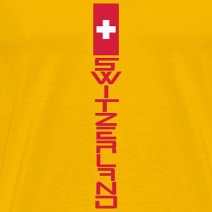 Cool Switzerland Graffiti Cross T-Shirts - Men's Premium T-Shirt