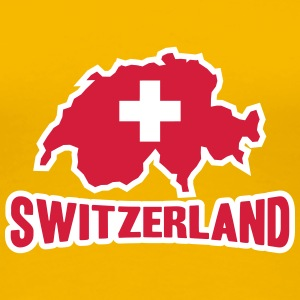 Switzerland Logo T-Shirts - Women's Premium T-Shirt