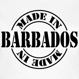 made_in_barbados_m1 Camisetas - Camiseta mujer