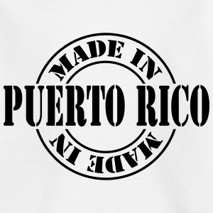 made_in_puerto_rico_m1 Shirts - Kinderen T-shirt