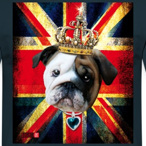 50 English Bully Union Jack Englisch Bulldog Vinta - Männer T-Shirt