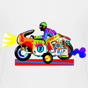 Motorcycle man's dream Shirts - Kids' Premium T-Shirt