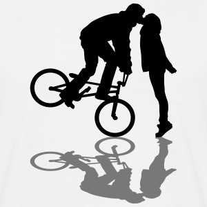 BMX kiss T-Shirts - Men's T-Shirt