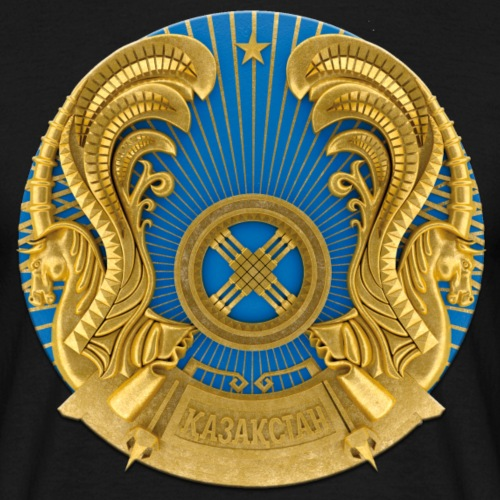 Kasachstan Казахстан Герб Wappen T-Shirts 2c