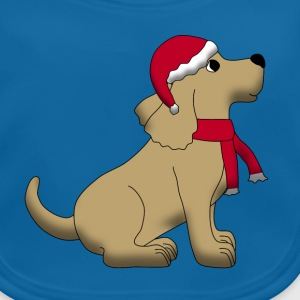 christmas dog E Accessories - Baby Organic Bib