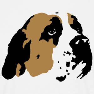 Saint Bernard Dog T-Shirts - Men's T-Shirt