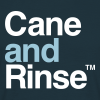 Cane and Rinse logo navy blue T - Men's T-Shirt