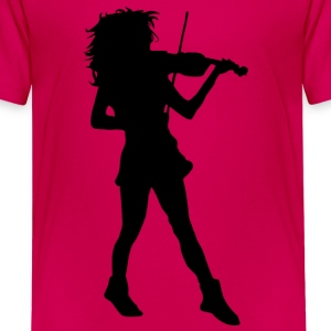 Violine - Teenager Premium T-Shirt