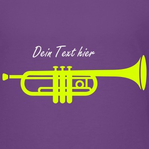 A trumpet  Shirts - Teenage Premium T-Shirt