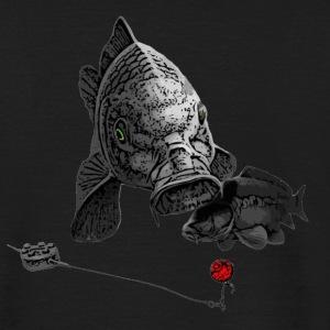 Carp fishing t shirts spreadshirt for Polo shirt with fish logo