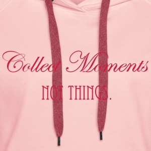 collect_moments Sweaters - Vrouwen Premium hoodie
