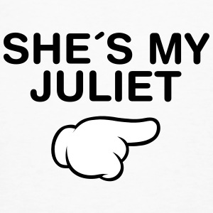 She´s My Juliet (Comic Hand) T-skjorter - Økologisk T-skjorte for menn