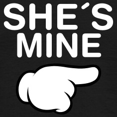 She´s Mine (Comic Hand) T-Shirts