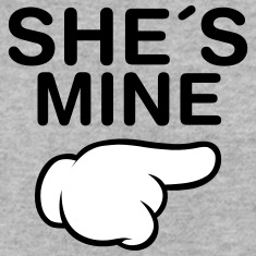 She´s Mine (Comic Hand) Sweatshirts