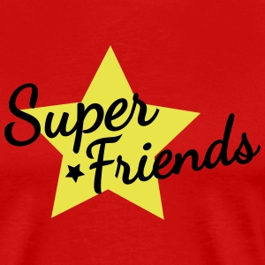 super friends super vänner T-shirts - Premium-T-shirt herr