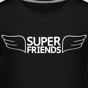 super friends super vänner T-shirts - Premium-T-shirt barn