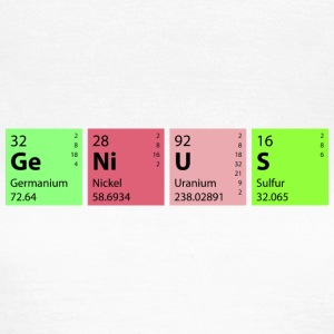 Chemie Genius T-Shirts - Frauen T-Shirt