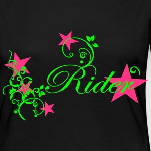 Rider Design with Tribal Long Sleeve Shirts - Women's Premium Longsleeve Shirt