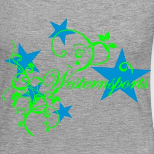Westensports with Tribal and stars Long Sleeve Shirts - Women's Premium Longsleeve Shirt