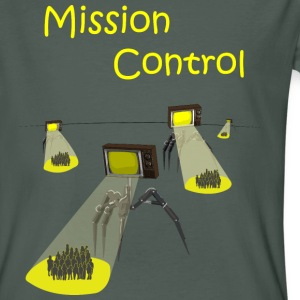Mission Control - Invasion of the Media - Men's Organic T-shirt