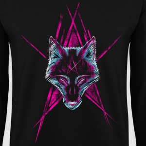 Noir Wolf Start Sweat-shirts - Sweat-shirt Homme