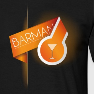 T SHIRT BARMAN by Florian VIRIOT - T-shirt Homme