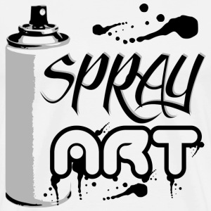 Tee Shirt Spray Art - T-shirt Premium Homme