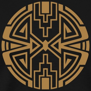 Native circle symbol, arrows & diamond - Intention Tee shirts - T-shirt Premium Homme