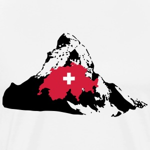 Matterhorn Switerland T-Shirts - Men's Premium T-Shirt