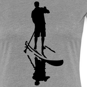 stand up paddling T-Shirts - Frauen Premium T-Shirt