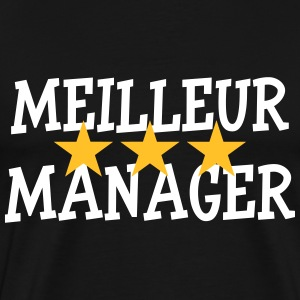 Meilleur Manager Tee shirts - T-shirt Premium Homme