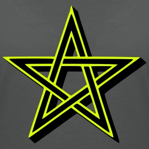 Pentagram T-Shirts - Women's V-Neck T-Shirt