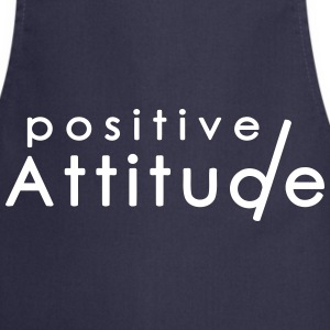 Positive ATTITUDE 1  Aprons - Cooking Apron