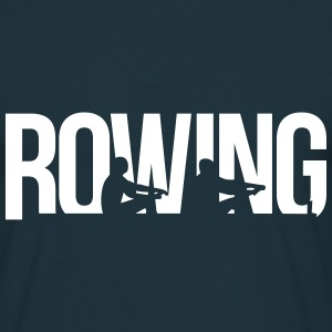 rowing aviron Tee shirts - T-shirt Homme