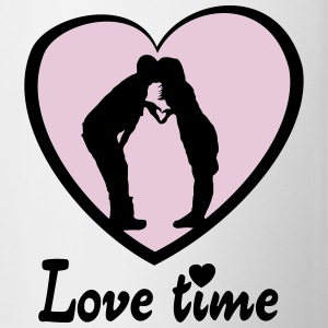 Love time Flasker & krus - Tofarvet krus