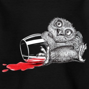 Tipsy Owl - Teenage T-shirt