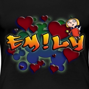 girls_name_012014_emily_a T-Shirts - Frauen Premium T-Shirt