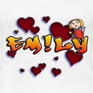 girls_name_012014_emily_b T-Shirts - Frauen Premium T-Shirt
