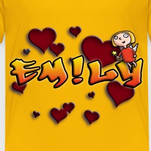 girls_name_012014_emily_b T-Shirts - Kinder Premium T-Shirt