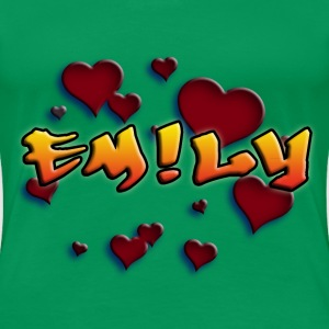 girls_name_012014_emily_c T-Shirts - Frauen Premium T-Shirt