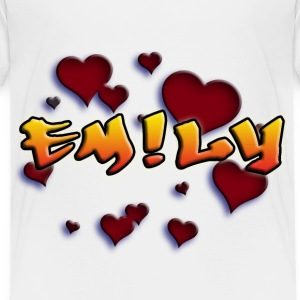 girls_name_012014_emily_c T-Shirts - Kinder Premium T-Shirt