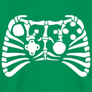 X-Box Controller fossiles squelette Tee shirts - T-shirt Premium Homme