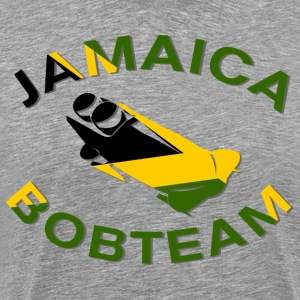 Jamaica Bobsled Team Flag  T-Shirts - Men's Premium T-Shirt