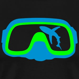diving Mask T-shirts - Herre premium T-shirt